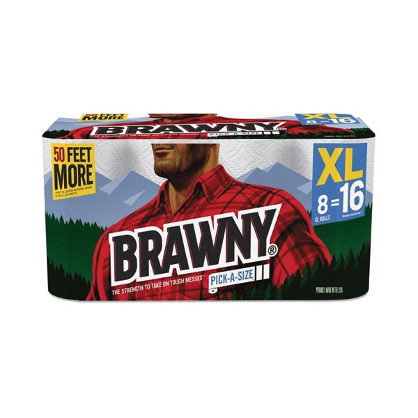 Brawny Pick-A-Size Perforated Paper Towels