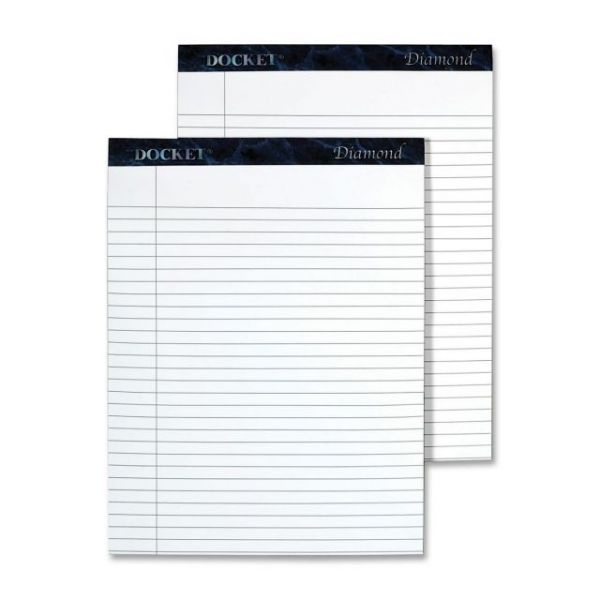 TOPS Docket Diamond Letter-Size Legal Pads