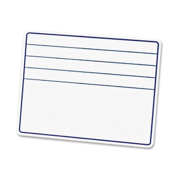 "Chenille Kraft Ruled Dry-Erase Board with Lines, 12"" x 9"", 1 Each"