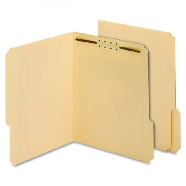 Globe-Weis Manila File Folders With Fasteners