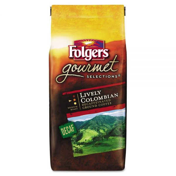 Folgers Gourmet Selections Ground Coffee - Decaf