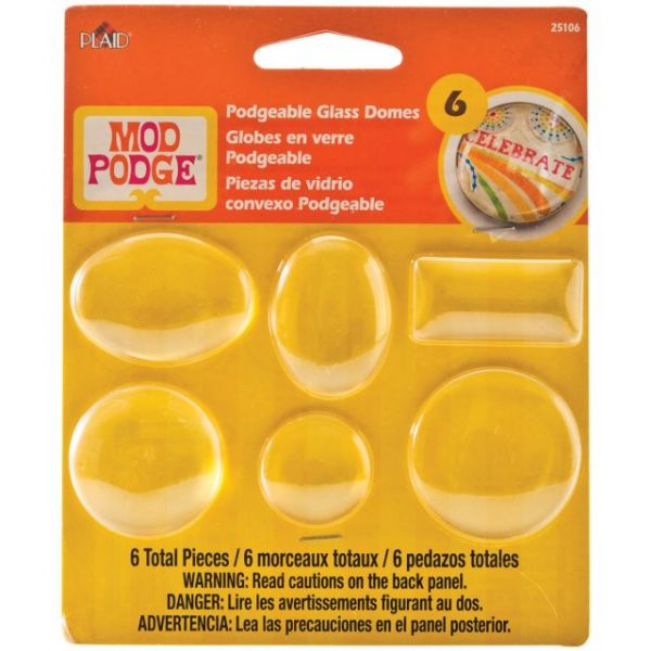 Mod Podge Podgeable Shapes 6/Pkg