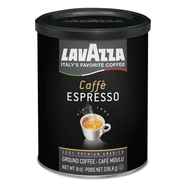 Lavazza Caffe Espresso Ground Coffee Ground for Espresso Brewer (1/2 lb)
