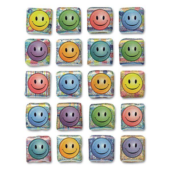 Creativity Street Peel & Stick Smiley Face Gemstone Stickers