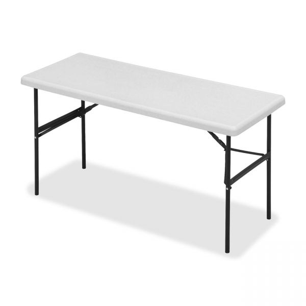 Iceberg IndestrucTable Too Commercial Grade Rectangular Folding Table
