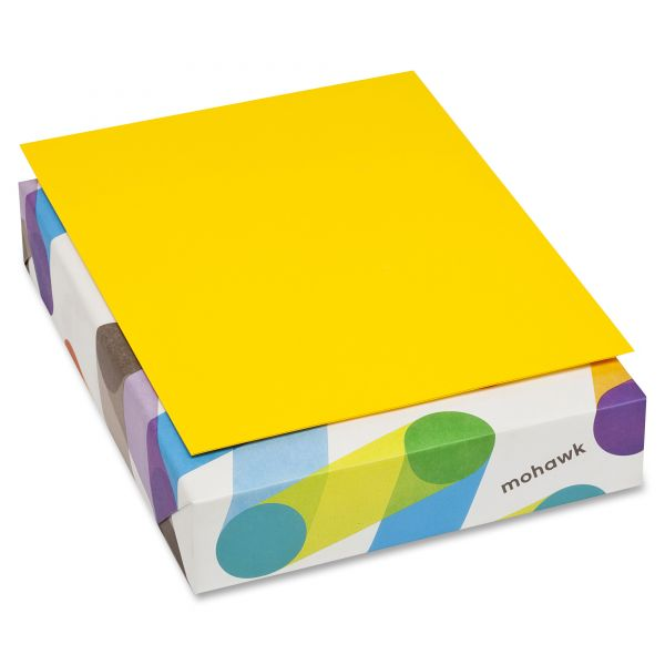 Mohawk BriteHue Colored Paper - Yellow
