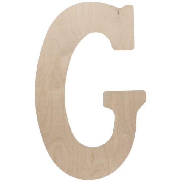 Wood Letters 18""