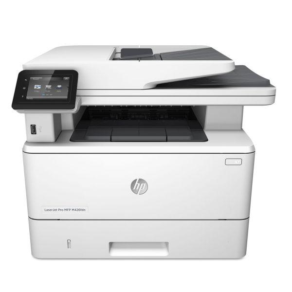 HP LaserJet Pro MFP M426FDN Multifunction Printer, Copy/Fax/Print/Scan