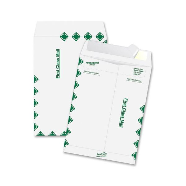 "Quality Park 6"" x 9"" First Class Tyvek Envelopes"