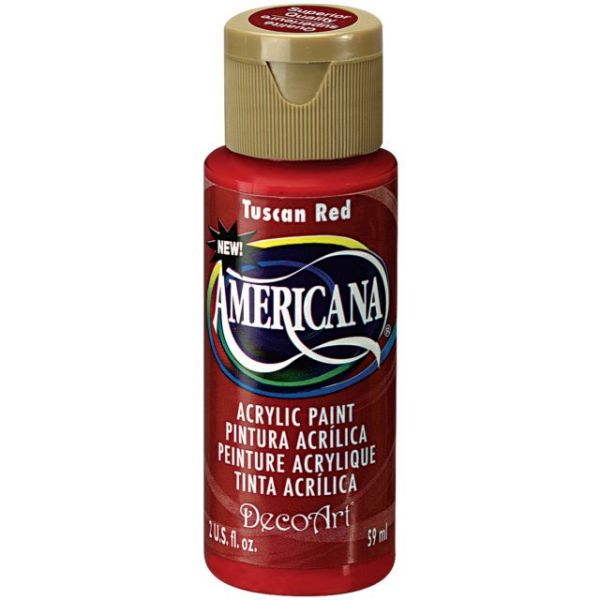 Deco Art Tuscan Red Americana Acrylic Paint