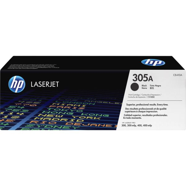HP 305A Black Toner Cartridge (CE410A)