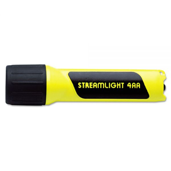 Streamlight ProPolymer Flashlight, Xeon, 4AA (incl), Yellow