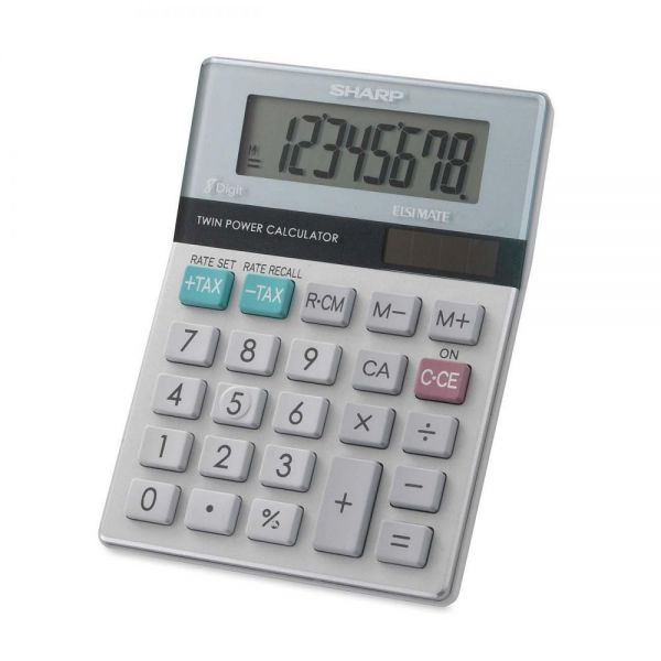 Sharp Calculators EL310TB Mini Desktop Display Calculator