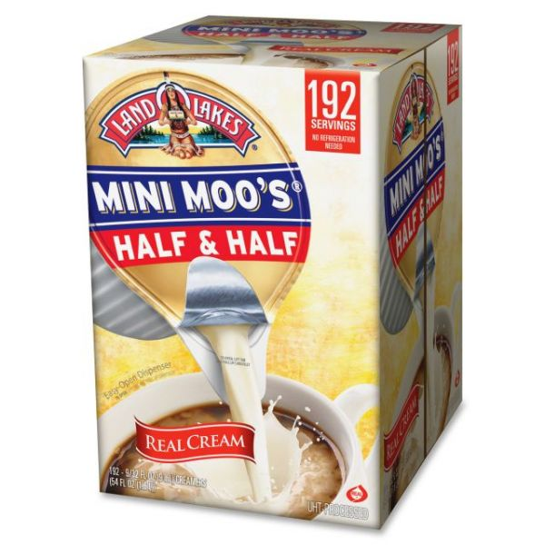 Land O Lakes Mini Moo's Half & Half Coffee Creamer Cups