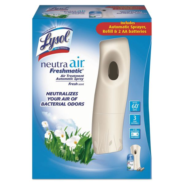 LYSOL NEUTRA AIR FRESHMATIC Starter Kit, Fresh Scent 6.17 oz