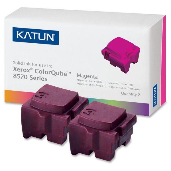 Katun Remanufactured Xerox 108R00927 Magenta Solid Ink Sticks