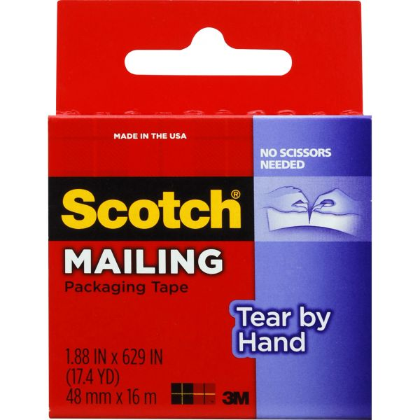 Scotch Tear By Hand Packing Tape