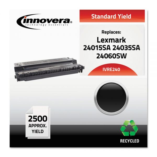 Innovera Remanufactured Lexmark 24015SA (E240) Toner Cartridge