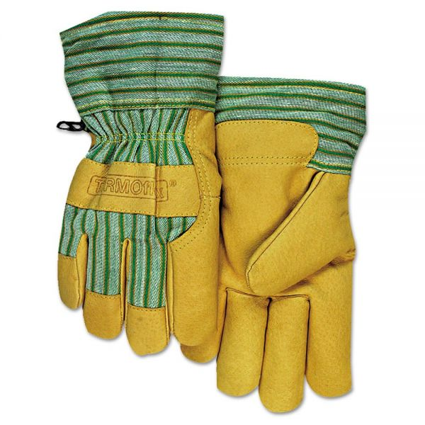 Anchor Brand CW-777 Pigskin Cold Weather Gloves, Large