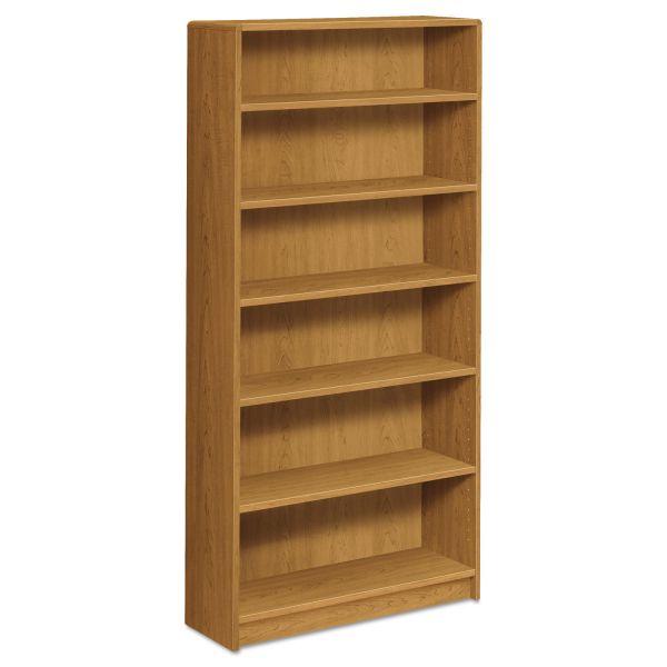 HON 1890 Series 6-Shelf Laminate Bookcase