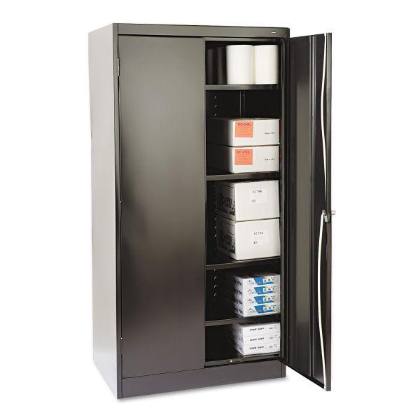 "Tennsco 72"" High Standard Cabinet, 36w x 24d x 72h, Black"