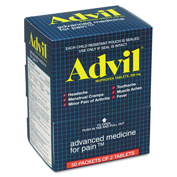 Advil Pain Reliever Tablets
