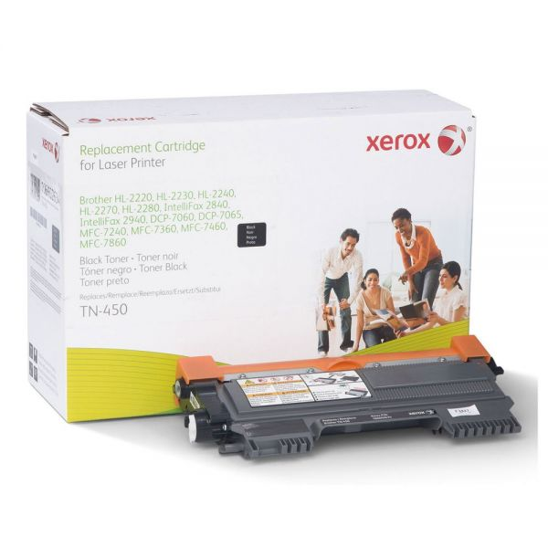 Xerox 106R02634 Remanufactured TN450 Toner, Black