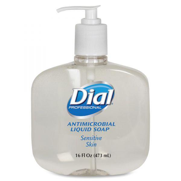 Dial Liquid Antimicrobial Hand Soap for Sensitive Skin