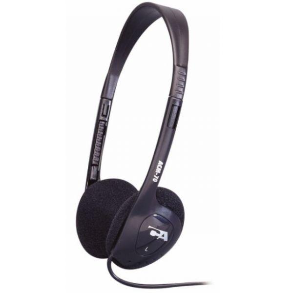 Cyber Acoustics ACM-70b Lightweight PC/Audio Stereo Headphone