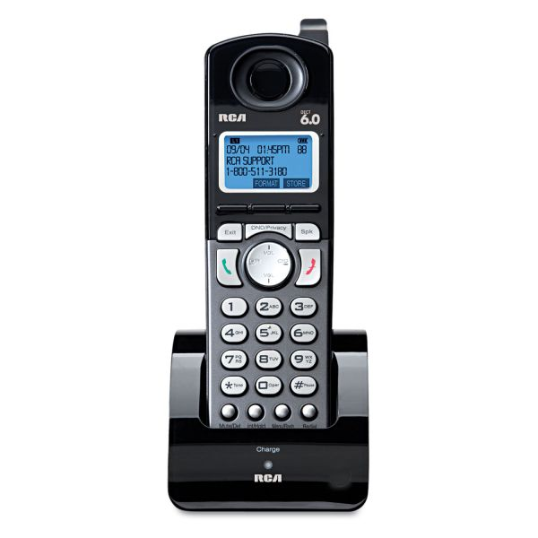 RCA Products Dect 6.0 Corded/Crdless Phone Handset