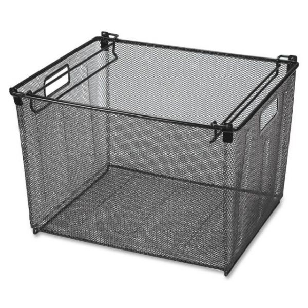 Lorell Portable Mesh Filing Tub