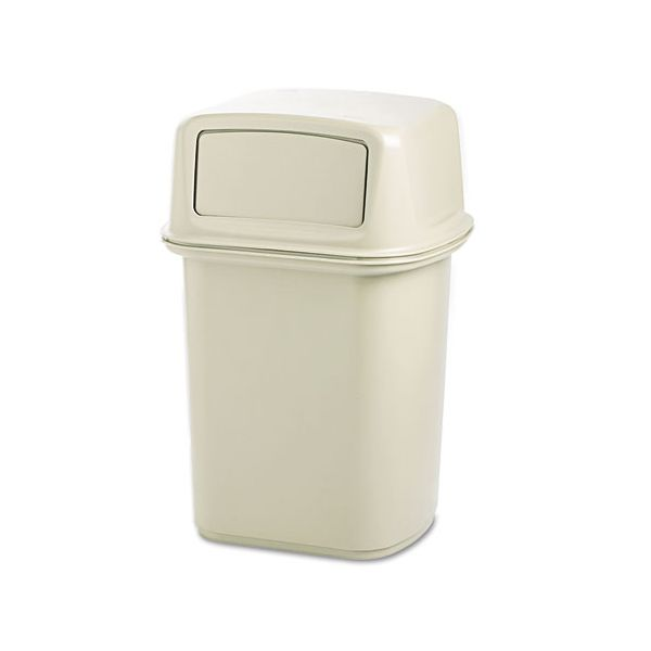 Rubbermaid Ranger Fire-Safe 45 Gallon Trash Can With Lid