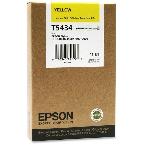 Epson T5434 Yellow Ink Cartridge