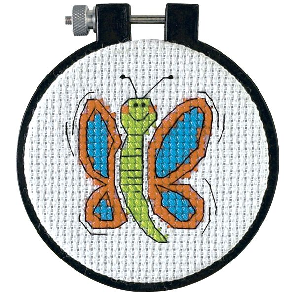 Dimensions Learn-A-Craft Happy Wings Counted Cross Stitch Kit