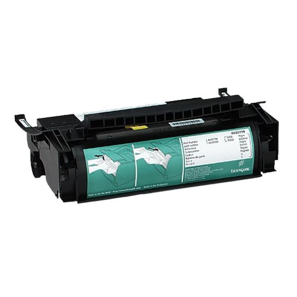 Lexmark 4K00199 Black High Yield Toner Cartridge