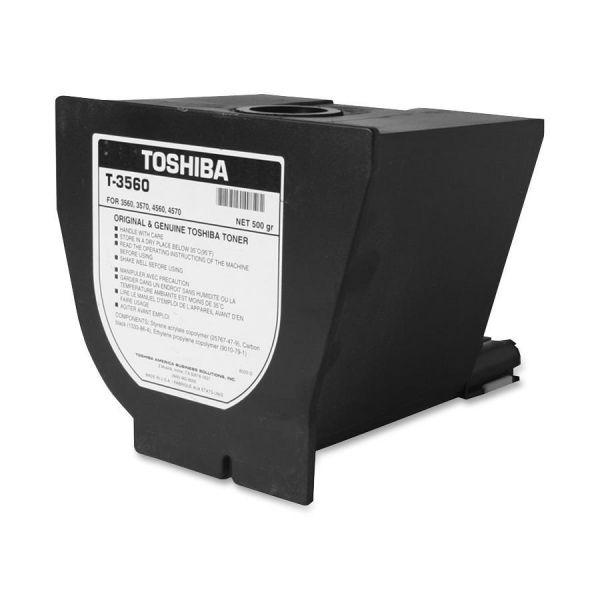 Toshiba T-3560 Black Toner Cartridge