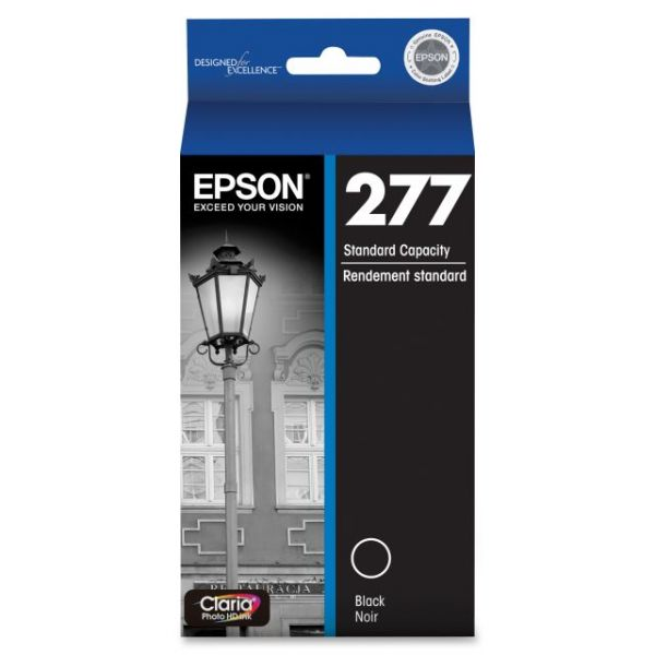 Epson Claria 277 Black Ink Cartridge (T277120)