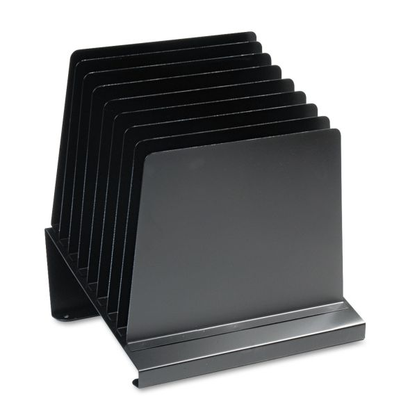MMF Quick View Slanted Vertical File Organizer