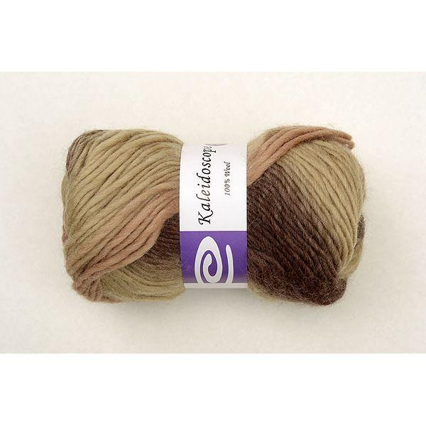 Elegant Kaleidoscope Yarn - Mocha