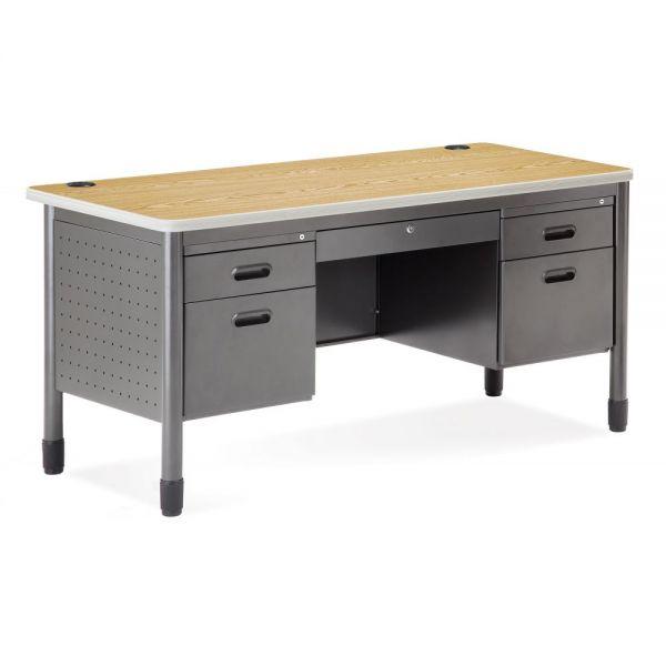 OFM Mesa Series Double Pedestal Computer Desk