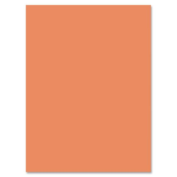 Nature Saver Orange Construction Paper
