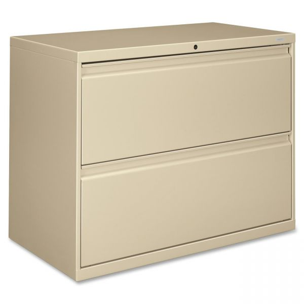 HON Brigade 800 Series 2-Drawer Lateral File Cabinet