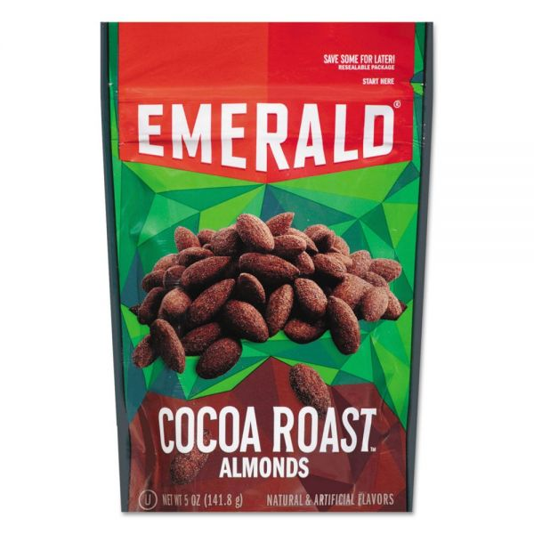 Emerald Cocoa Roasted Almonds