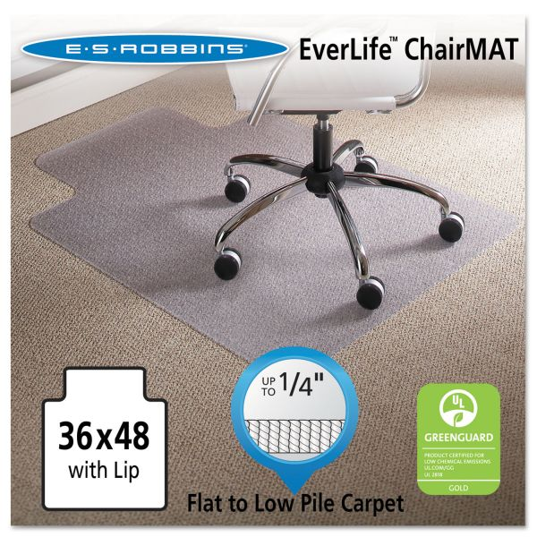 E.S. Robbins Anchormat Low Pile Chair Mat