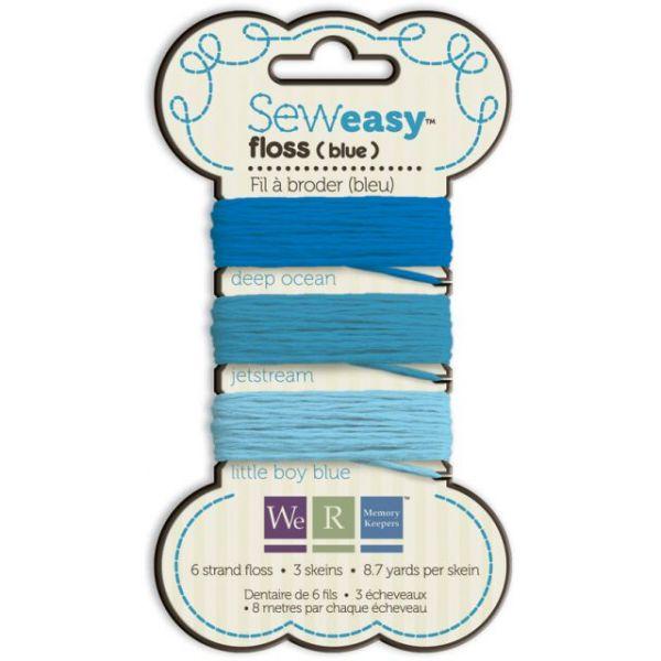 Sew Easy Solid 6-Strand Floss 8.7yd 3/Pkg