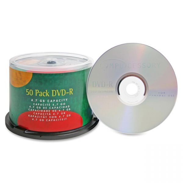Compucessory Recordable DVD Media