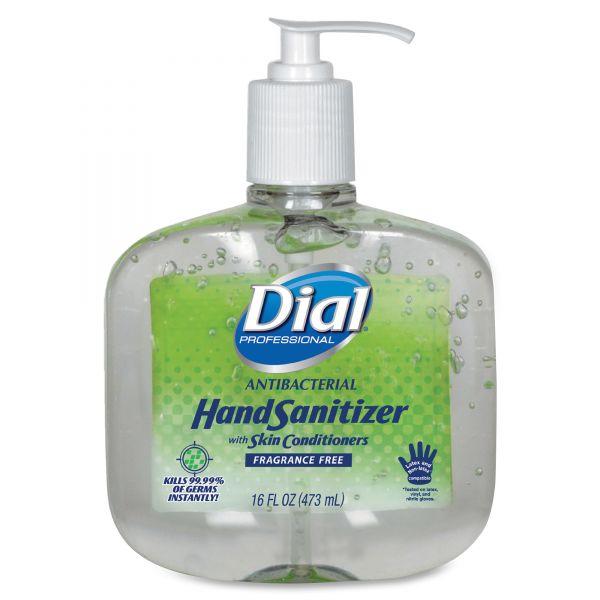 Dial Professional Antibacterial Gel Hand Sanitizer w/Moisturizers