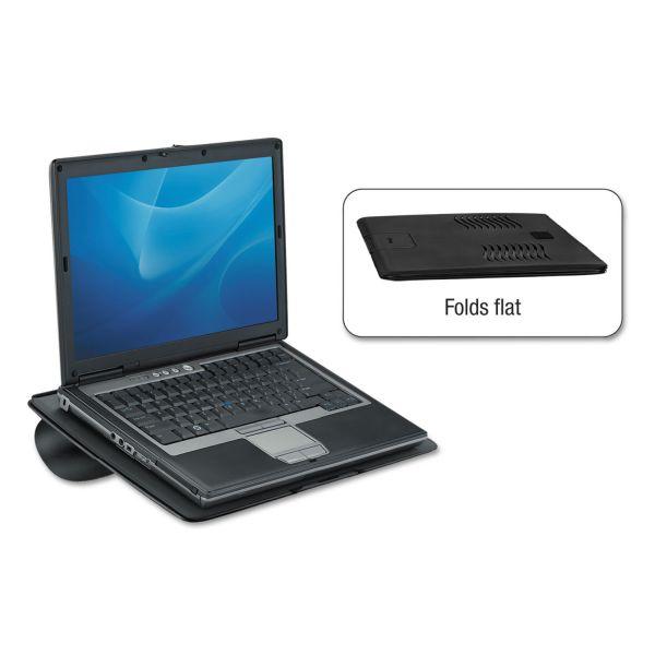 Fellowes Laptop Riser, Non-Skid, 15 x 10 3/4 x 5/16, Black