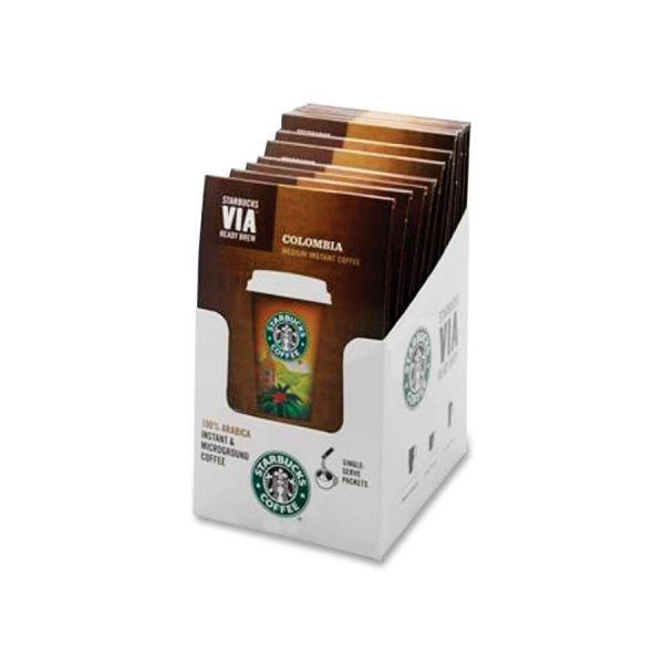 Starbucks VIA Ready Brew Colombia Instant Coffee
