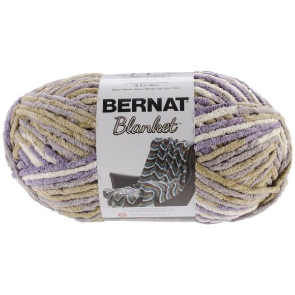 Bernat Blanket Big Ball Yarn - Lilac Bush